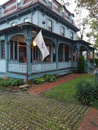 The Blue Rose Inn & Restaurant: Porch Rocking Chairs