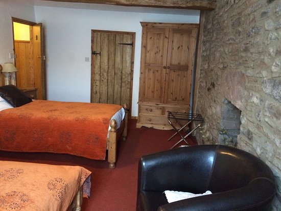 Clun, UK: The Red Room