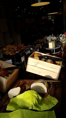 Broendby, Δανία: il notevole buffet della colazione