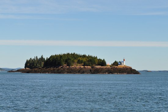 Deer Island, Canada: View from ferry