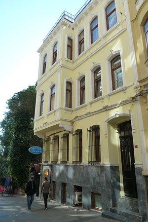 Hotel New House: In einer Seitenstrasse