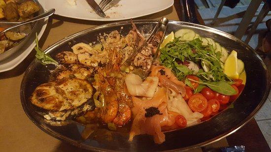 Exquisite sea food experience