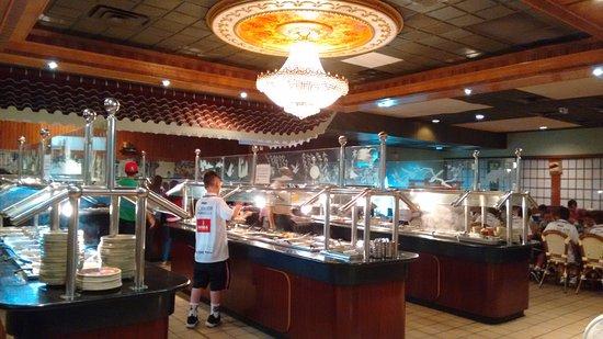 Kabuki Oriental Buffet: buffet