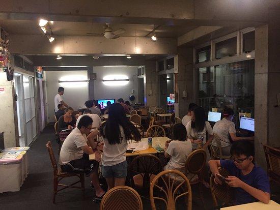 Sakura Hostel Asakusa: De gedeelde common room