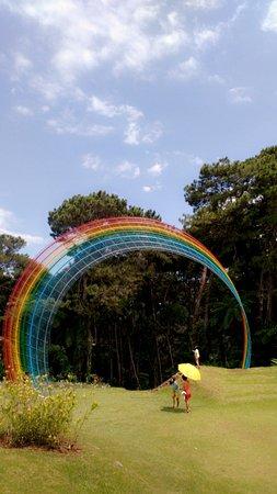 Davao City, Filipinas: Rainbow lane