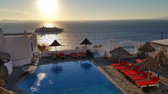 Aegean Hotel: Abendstimmung.......