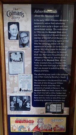 Colman's Mustard Shop & Museum: Advertising