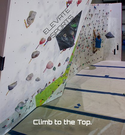 Climb to the top in Harrison, Arkansas.