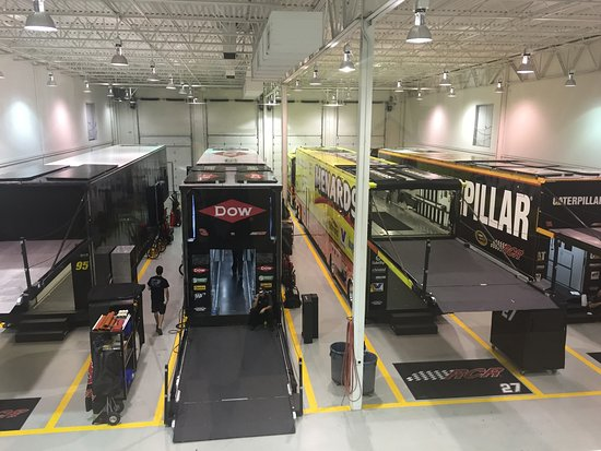 Welcome, NC: 2nd Floor glass hallway viewing area - Team Haulers.