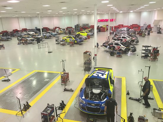Welcome, NC: 2nd Floor glass hallway viewing area - RCR Team shop.