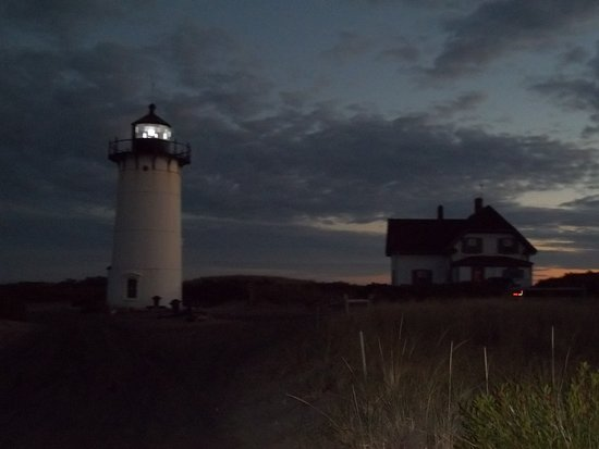 Race Point Lighthouse : Sunset at Race Point