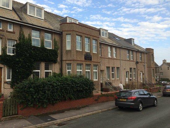 Seascale, UK: Appartment block