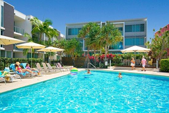 Coolum Beach, Australia: Pool area