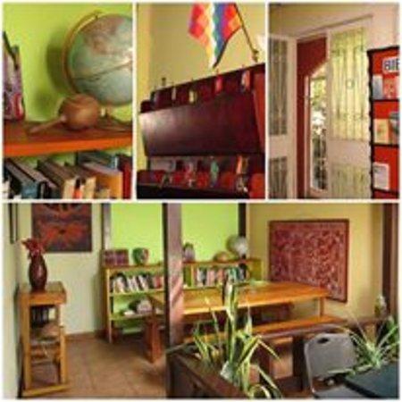 Casa Ridgway Hostel: Bienvenidos/as, varias vistas de aspectos del hostel y de la organización.