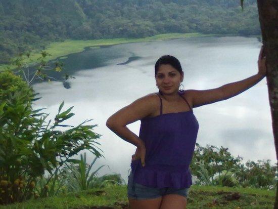 Tirimbina, Costa Rica: Fotografia tomada desde el mirador de la laguna Hule ubicado en el refugio nacional Bosque Alegr