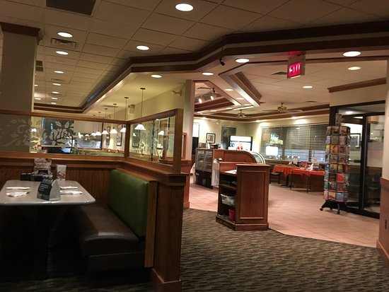 Inside Perkins in Pittston