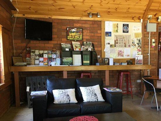 Great Western, Australien: Comfy lounge area Grampians Estate