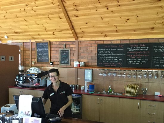 Great Western, Австралия: Very friendly staff Grampians Estate
