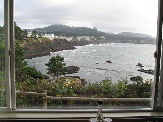 Depoe Bay, OR: View from Room 7