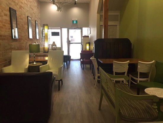 Uxbridge, Kanada: Tin Cup Caffe