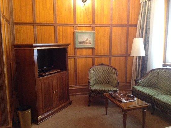 Hotel Konig Von Ungarn: sitting area
