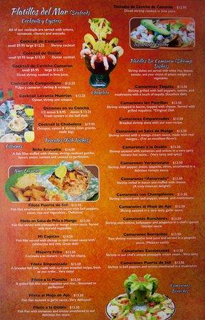 los potrillos menu page 6