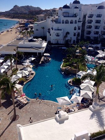 Pueblo Bonito Rose: View from our room, room 503