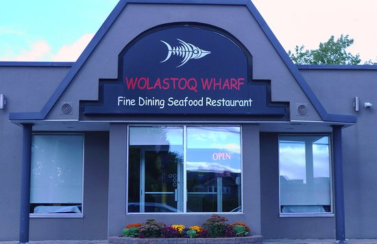Wolastoq Wharf: Converted Taco Bell or Chinese Diner?