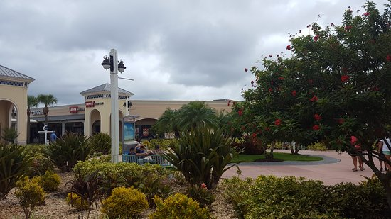 Ellenton Premium Outlets: Outdoor outlet center with a variety of stores for everyone.  Every sneaker store imaginable and