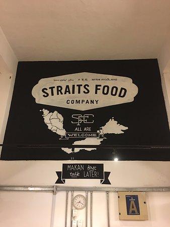 straits food company cool decoration