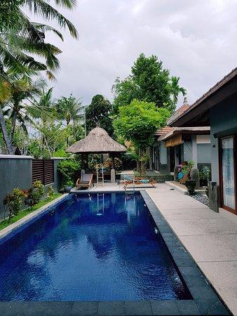 Bumi Linggah The Pratama Villas: view from bedroom 3