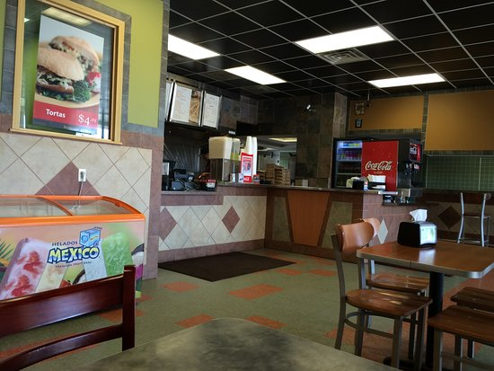 Channahon, IL: Taco Burrito King inside