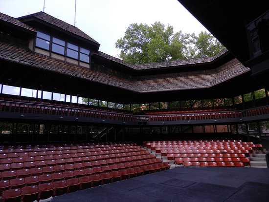 Cedar City, UT: Utah Shakespeare Festival Venue.