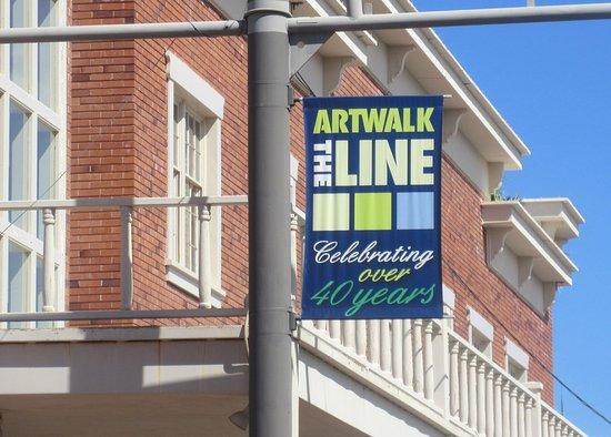 Art Walk The Line, Arts District, Scottsdale, AZ - Picture
