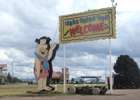 Williams, Arizona: Fred, Flintstone's Bedrock City, Williams, AZ