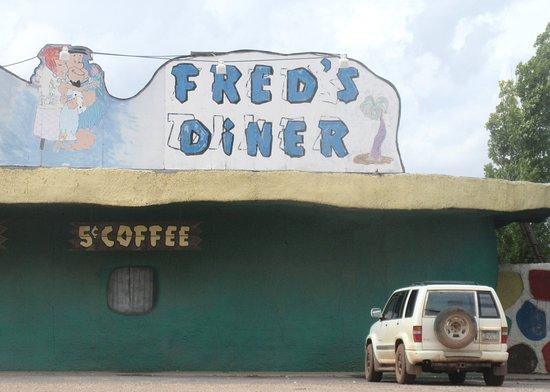 Williams, AZ: Fred's Diner, Flintstone's Bedrock City, Az