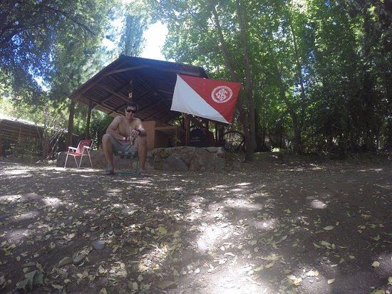 Cascada de las Animas: Local para acampar