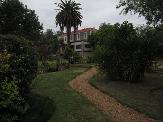 Karoo Life Bed & Breakfast: Looking towards the main house from the garden.