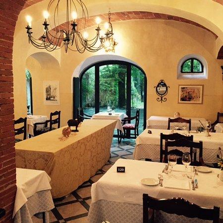 Ricavo, Italien: Blick ins Restaurant
