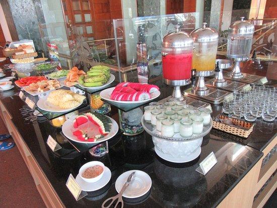 Nha Trang Lodge: フルーツも豊富だよ