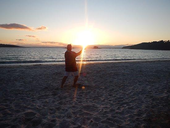 White Beach, Australien: just a magic sunset