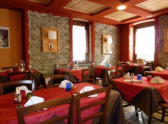 Pila, Italie : Sala ristorante