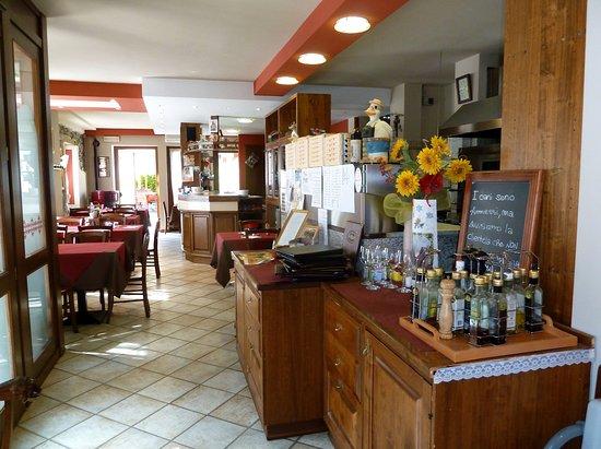 Pila, Itália: Sala bar