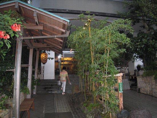 Rakuzan Yasuda: 玄関入口