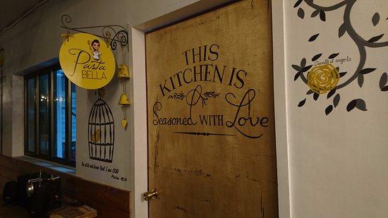 door to kitchen - Picture of Pasta Bella, Cebu City - TripAdvisor Wood Door Supplier Cebu on