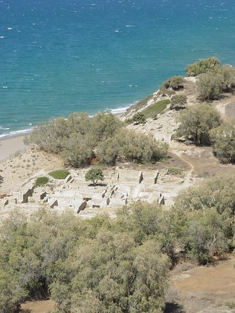 Pitsidia, Greece: Near to Komos beach there is archeological excavations