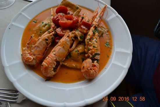 Ottiolu, Italia: assiette de langoustines