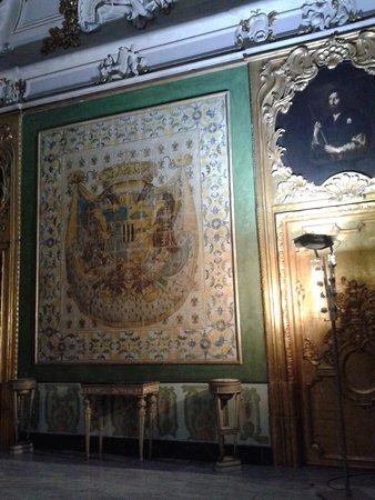 Province of Palermo, Italia: Sala dello Stemma