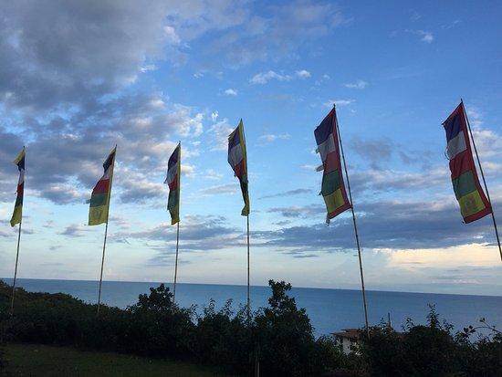 Laem Set, Thailand: Вид с верхней террасы