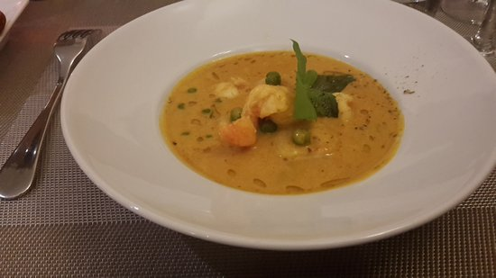 Caromb, ฝรั่งเศส: Suppe vom Feinsten